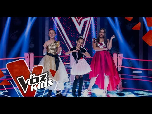 Angie Nataly Y Maite Cantan En Las Súper Batallas La Voz Kids Colombia 2019 Youtube