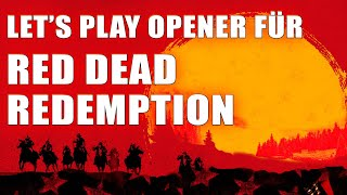 Let's Play Opener für Red Dead Redemption | Adobe After Effects - Photoshop - Premiere | 2019 thumbnail
