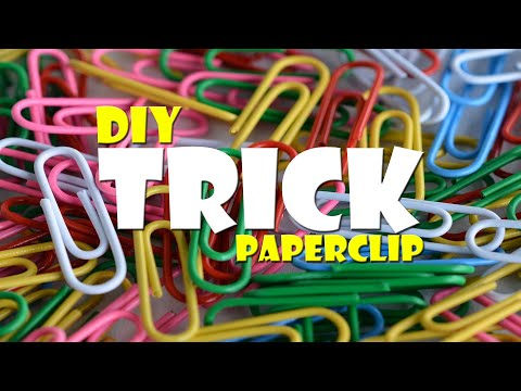 Trick Buroklammer Herz Trick Paperclip Heart Craft Diy Youtube