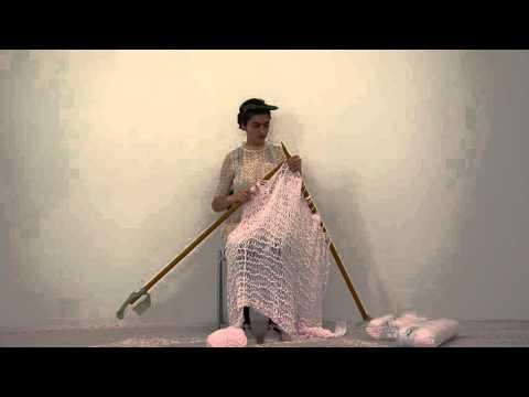 Soft soft baby pink big knitting