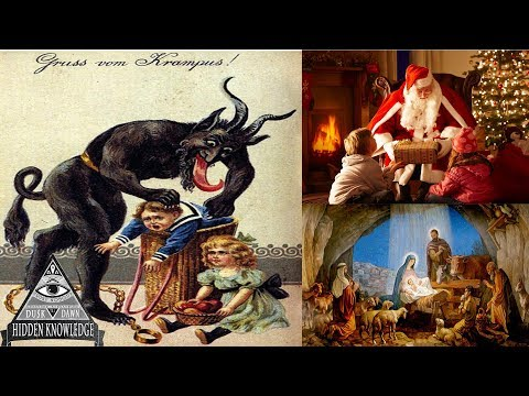 Dark Origins of Christmas & Krampus The Christmas Demon -  Creepy Pagan History