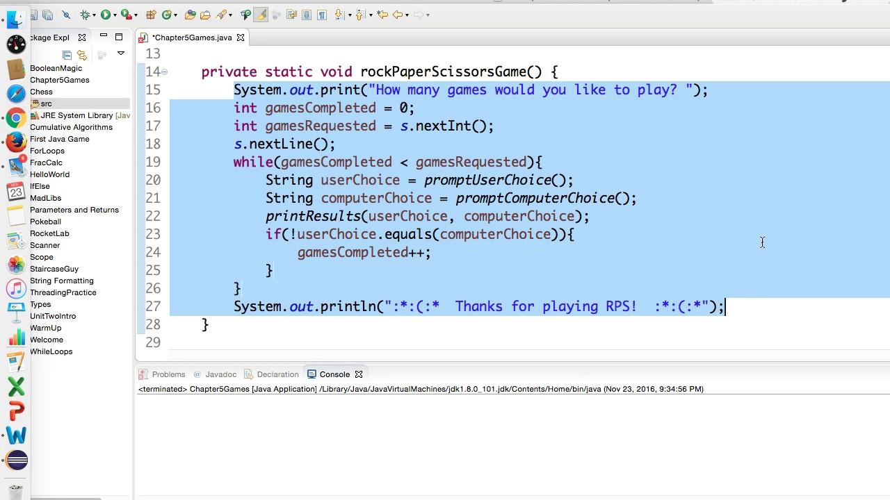 Java Tutorial Pig Game (Part 1)