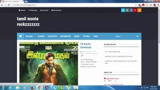 how to download tamil new movies