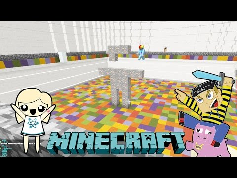 BUILD MY THING - Minecraft Building Mini Game Play with Hannah Carr