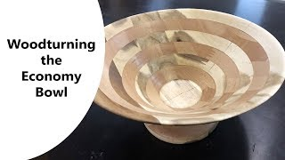 Woodturning - The Economy Bowl