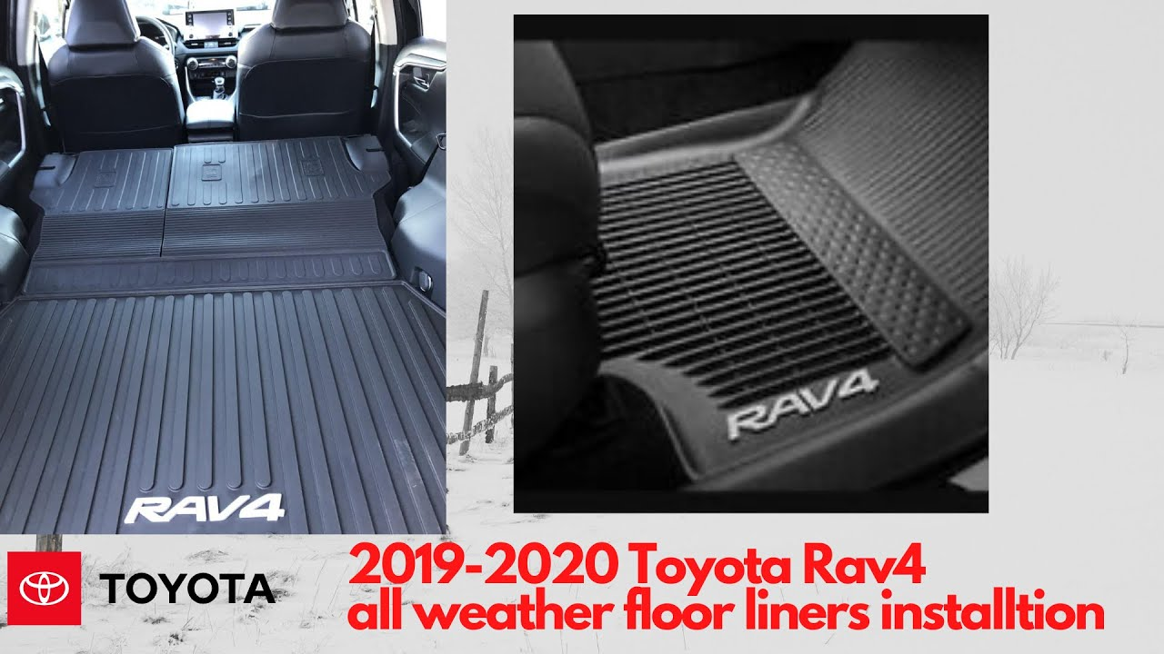 2019 Toyota Rav4 All Weather Liners Youtube