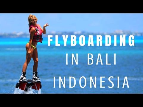 FLYBOARDING IN BALI INDONESIA