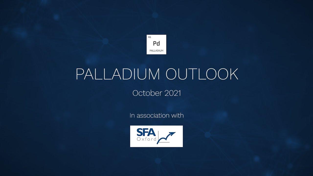 Palladium Outlook, peak demand between 2027 - 2030 with SFA Oxford