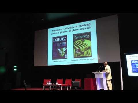 """conférence """"A la découverte des gènes des plantes"""" par Michel Delseny"""