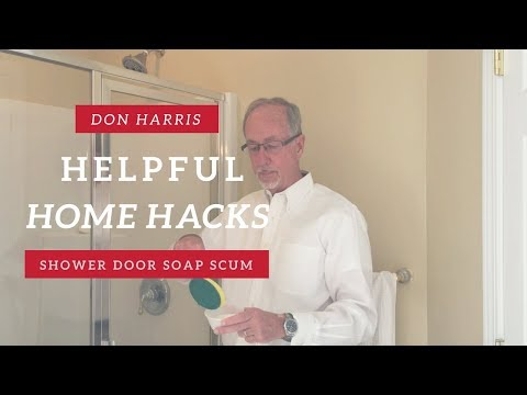 How to Get Soap Scum Off Your Shower Door