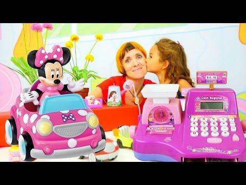 Играем в детский магазин. Видео для девочек.