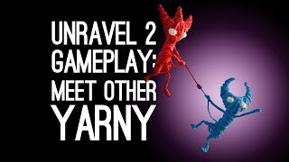 Unravel 2 Co-op Gameplay: MEET OTHER YARNY (Let