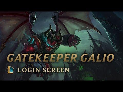 Gatekeeper Galio | Login Screen - League of Legends