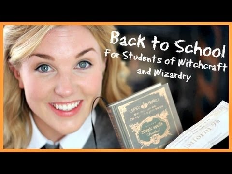Back to School for Students of Witchcraft and Wizardry