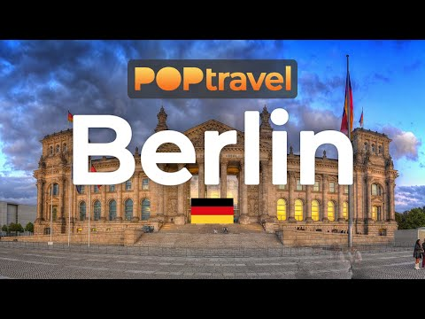 Walking In BERLIN / Germany 🇩🇪- Checkpoint Charlie To Reichstag - 4K 60fps (UHD)