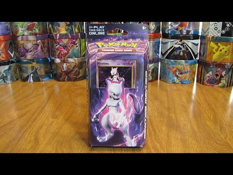 Mewtwo Mayhem Theme Deck Review And Giveaway