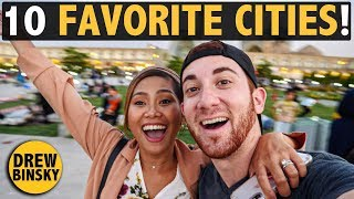 MY 10 FAVORITE CITIES IN THE WORLD!
