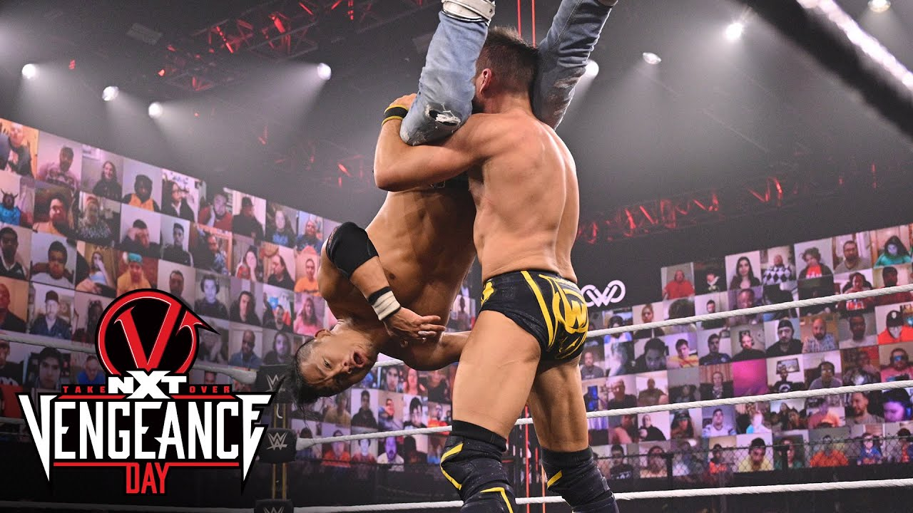 Kushida pushes Johnny Gargano to the limit with crushing kick: NXT TakeOver: Vengeance Day