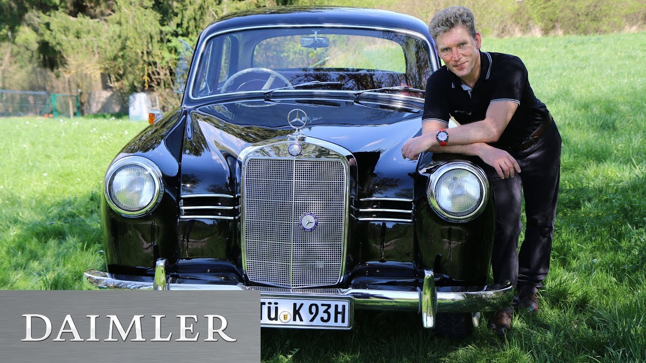 Say hi to my Oldie! Wolfgang Kufner and his Mercedes-Benz