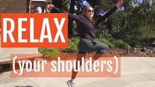How To Relax Your Shoulders When You Run