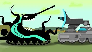 Охота на Венома и подкрепление из мира Дюны - Мультики про танки