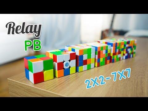 Relay PB | 2x2-7x7 - 24:44.49