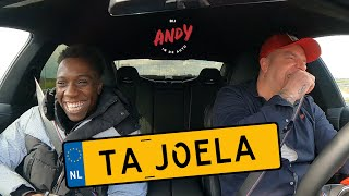Ta Joela - Bij Andy in de auto! (English subtitles)