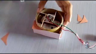 how to make a mini Exhaust fan Best out of waste