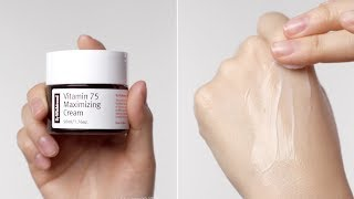 """""""It"""" Product to Boost Vitamin C Effect for Fading Acne Marks I VITAMIN 75 MAXIMIZING CREAM"""