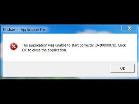 Ошибка 0xc000007b при запуске игр