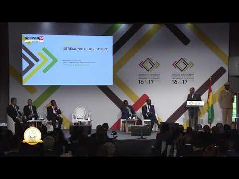 Cérémonie d'ouverture RGC sur la Guinée - Discours de Président Alpha Condé