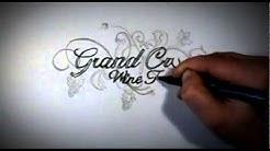 Grand Cru Wine Tours Logo Speed Drawing