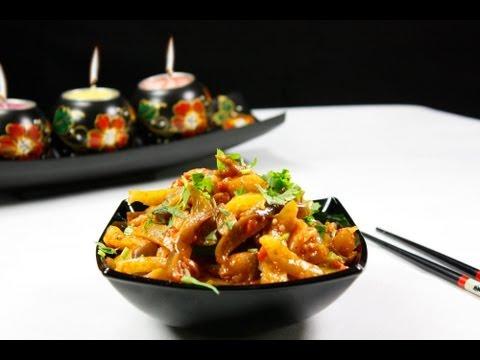 Жареные баклажаны (кади-ча)