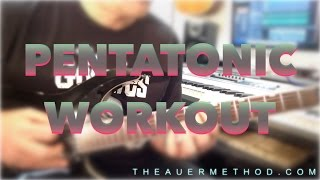 Pentatonic Workout Challenge (Mode 1)