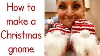 How to make a Nordic Christmas Gnome.