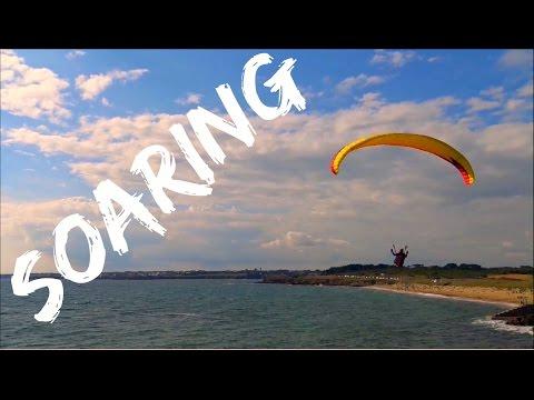 Soaring ; Parapente ; Surf des Airs ; Côte Lorientaise ; Sport à Voile ; Bretagne ; France