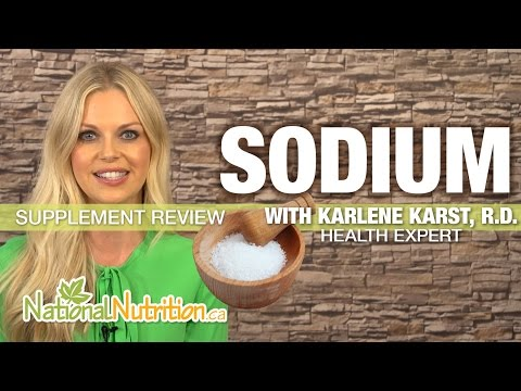 Professional Supplement Review - Sodium