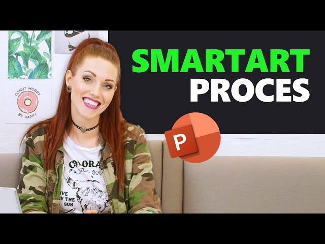 #9 Processen weergeven met SmartArt | Bedrijfspresentatie in 12 stappen | PPT Solutions