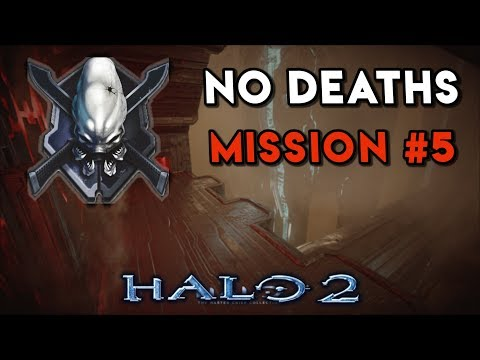 Halo 2 LEGENDARY NO DEATHS Walkthrough ► Mission #5 The Oracle