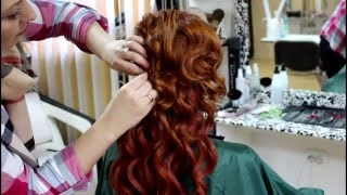 видео Свадебные прически с накладными прядями (фото)