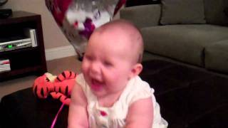 6 Month Old Baby Kaya Laughing