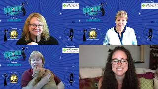 4/28/2021 Meowy Hour with guest Emily Hall, host Arden Moore, and Somali cat as feature breed.