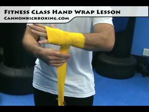 Kickboxing Lesson – Proper Fitness Class Handwrap