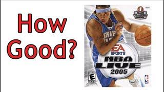 NBA Live 2005 vs. NCAA March Madness 2005