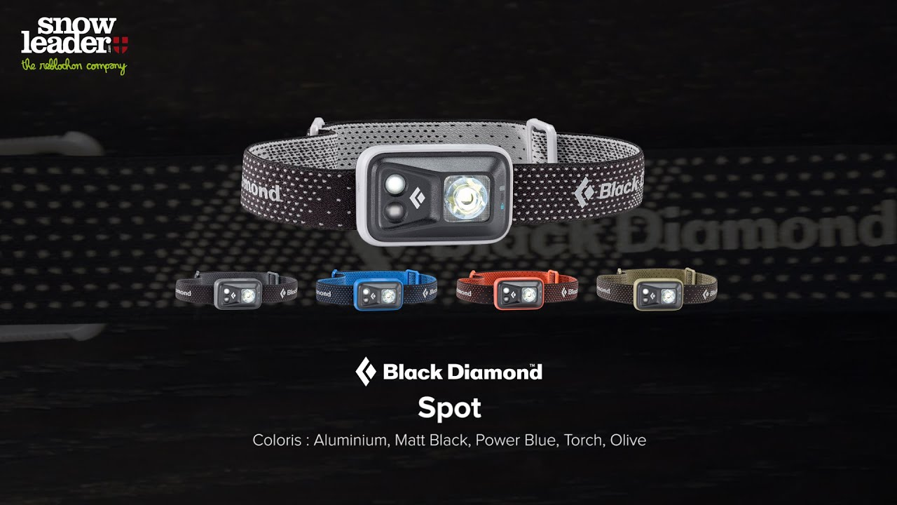Black Diamond Spot Lampe Frontale Snowleader Com Youtube