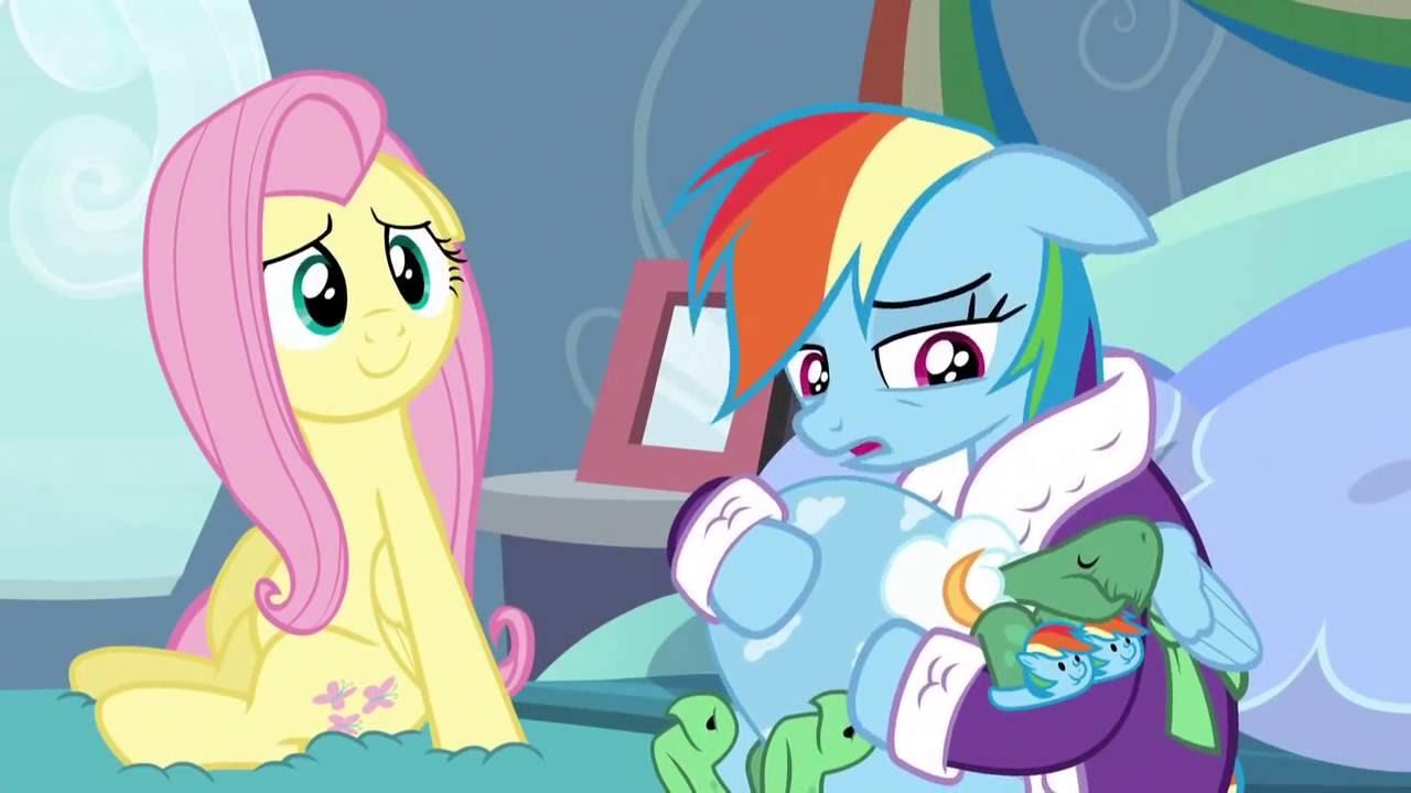 46c8cd0ebd54 My Little Pony Rainbow Dash Cries Full Scene Tanks For The Memories HD -  YouTube