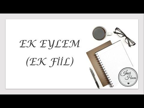 EK FİİL (Ek Eylem) KONU ANLATIMI TYT / YKS / KPSS