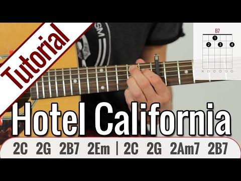Eagles - Hotel California   Gitarren Tutorial Deutsch