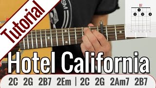 Eagles - Hotel California | Gitarren Tutorial Deutsch