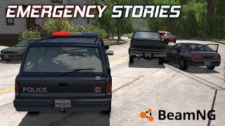 "Emergency Stories [16] (Short Stories) - BeamNG Drive - ""Neighborhood Mayhem"""